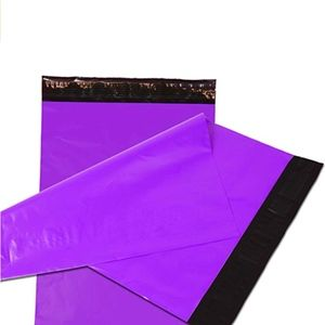 Other - 50 Purple Poly Mailers Self Seal Non-Padded 6X9 in